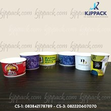 Print Soup Cup Paper harga murah min order 1000pcs