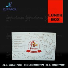 Kotak Makan Unik bahan kertas food grade laminasi ( MIN ORDER PRINTING HANYA 1000PCS )