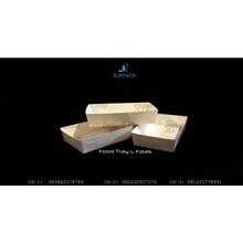 Paper Tray Large - Food Tray Paper Large - Tray Piring Kertas - Piring Kertas Large - Kemasan Unik