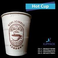 Paper Cup untuk kemasan minuman panas atau hangat ukuran 8 oz import atau 10 oz 270 ml
