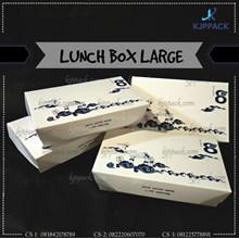Kotak Nasi Ukuran Large / Kotak MAkanan Food Grade