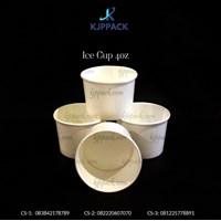 Es Krim Paper Cup Polos / Ice Cream Cup Paper 4 oz - CS4