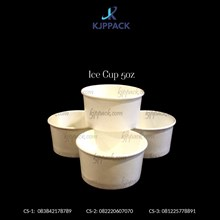 Es Krim Paper Cup Polos / Ice Cream Cup Paper 5 oz - Cs4