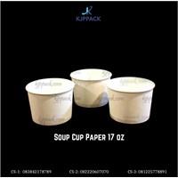 Mangkok Sup 17oz / Soup Cup Paper Bowl 17 oz - Cs4