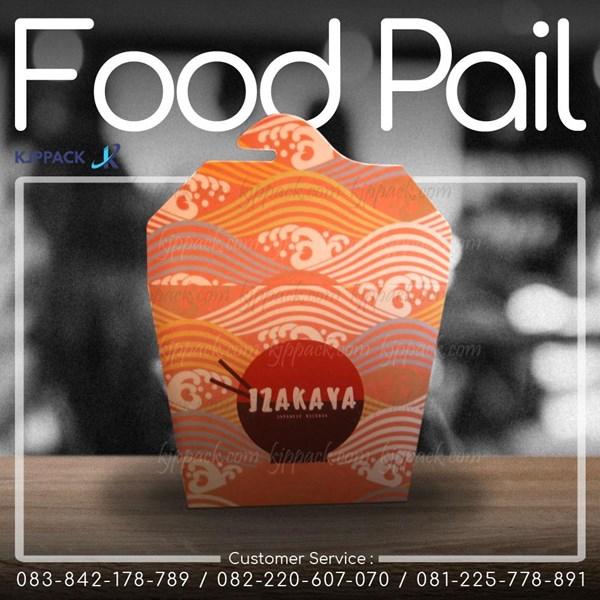 Terlaris ! Food Pail atau Chinese Box Size Large - Rice Box 12 Oz