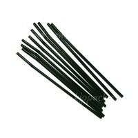 Sedotan Fleksible warna hitam