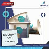 Ice cream Cup Custom Desain Jogja Bantul Magelang dan sekitarnya