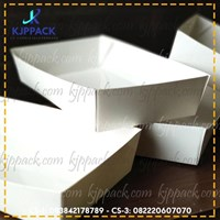 Jual Kotak Karton FOOD BOX - TRAY/PIRING KERTAS