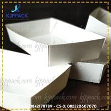 Kotak Karton FOOD BOX - TRAY/PIRING KERTAS
