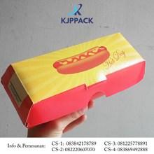 Kotak Karton Hotdog Cetak Printing