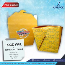 Cetak Kemasan Food Pail ( Rice Box ) ukuran M Cs4