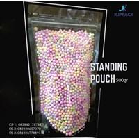 Kemasan Plastik Berdiri Transparan ( Standing Pouch ) 500 gr Cs4