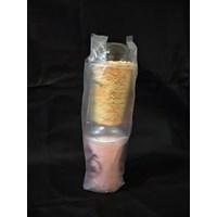 Kantong Plastik Kemasan Minuman 2 gelas - Plastic Bag - Plastik Tenteng Cup
