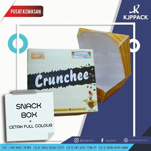 Cetak Kemasan Snack Box Ukuran Medium