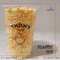Jual Plastik cup ukuran 16 oz untuk Minuman Kopi atau Jus  2