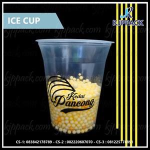 Plastik cup ukuran 16 oz untuk Minuman Kopi atau Jus