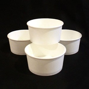 Mangkok Kertas untuk Makanan berkuah atau Panas kapasitas 720 ml