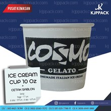 Ice Cream Cup Paper 10oz (300ml) - Paper cup Ice Cream - Cup es krim