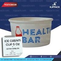 Paper Cup Es Krim 5 oz sablon 2 warna Cs4 1