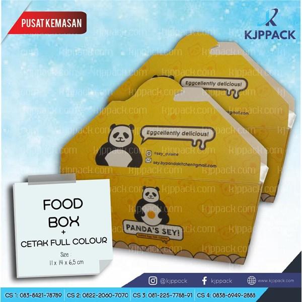 FOOD BOX - Kemasan Makanan Unik - Cetak Kemasan BAHAN FOOD GRADE (MIN ORDER HANYA 1200 PCS)