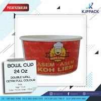 Cetak Kemasan Bowl / Mangkuk Kertas / Soup Cup