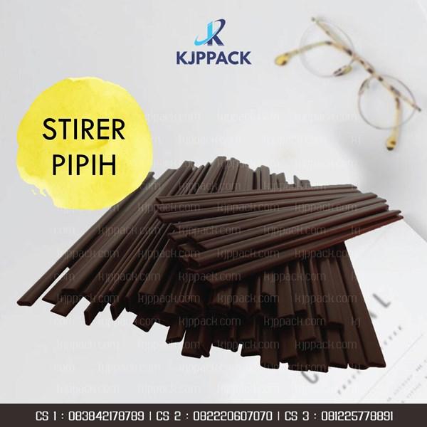 Sedotan Kopi dan Sedotan Hot Cup Paper / stirer hot Cup / sedotan Pipih