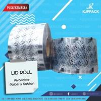 Lid Roll sablon / Sealer cup sablon logo/tulisan