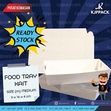 Food Tray Medium Polos cocok untuk kemasan Snack