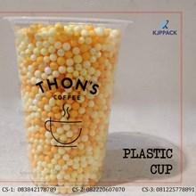Cetak Sablon Plastik Cup