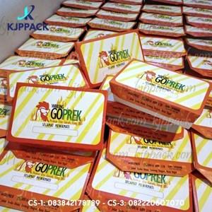 Cetak Kemasan LUNCH BOX / Print LUNCH BOX MIN 1000pcs