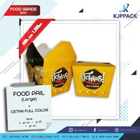 Cetak Kemasan Large - Food Pail Large - Rice Box Large - Printing Box Murah