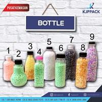 Jual Botol Plastik PET Tebal berbagai bentuk dan ukuran