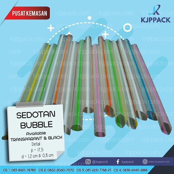 Sedotan Bubble 12mm - Sedotan Warna - Sedotan Plastik - Sedotan Teh - Sedotan Bubble Murah