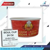 Paper Bowl 24oz Mangkuk kertas 720ml Food grade