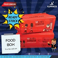 Custom box dengan berbagai ukuran - produk ready food box desain unik dan menarik