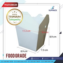 Kemasan Rice Box KFC - Kemasan Food Pail Polos KFC - Kemasan Nasi Take Away KFC