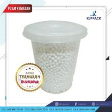 Plastic Cup 10 oz dengan tutup