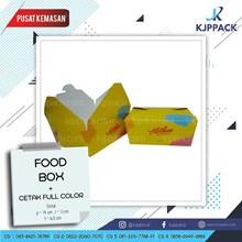 Cetak Kemasan Food Box