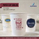 Paper Cup Sablon/ Cetak Paper Cup Semarang / Gelas Minuman Kopi 1