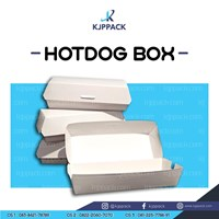 Cetak Kemasan Sosis Box/ Hot Dog Box/ Roti John