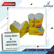 Kotak Karton Makanan Food Grade Print
