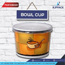 Print Double Wall Paper Bowl/ Soup Cup Paper 17oz