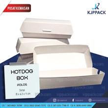 Kotak Makan/ Hotdog Box Polos
