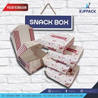 Kotak Karton Snack Box/ Kotak Snack Medium
