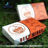 Cetak Kertas Makanan / Dus Makanan higienis / Lunch Box Murah / Lunch Box Large