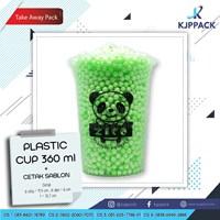 Cetak Plastik Cup 12 oz