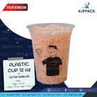 Plastik Kemasan Minuman - Gelas Plastik 12oz - Printing/ Sablon Plastik Cup 12oz 1