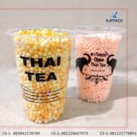 Cetak Plastik Cup - Kemasan Minuman Dingin - Sablon Plastik Cup