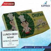 Cetak Kemasan Makanan - Box Food Grade - Print Lunch Box Small