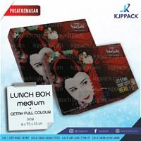 Cetak Kemasan Lunch Box - Print Lunch Box Murah - Box Makanan Food Grade